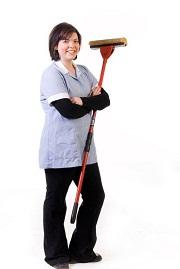 Salariée d'une société de nettoyage